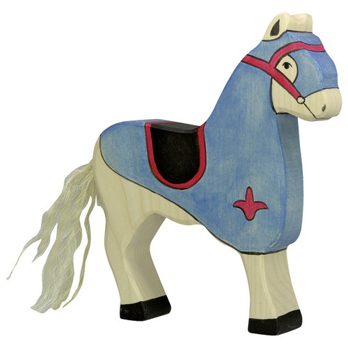 Holztiger Tournament Horse Blue