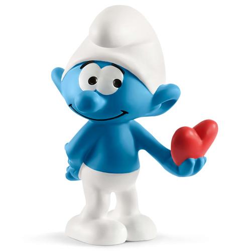 Schleich Smurf with Heart