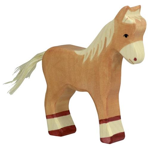 Holztiger Foal Standing Light Brown