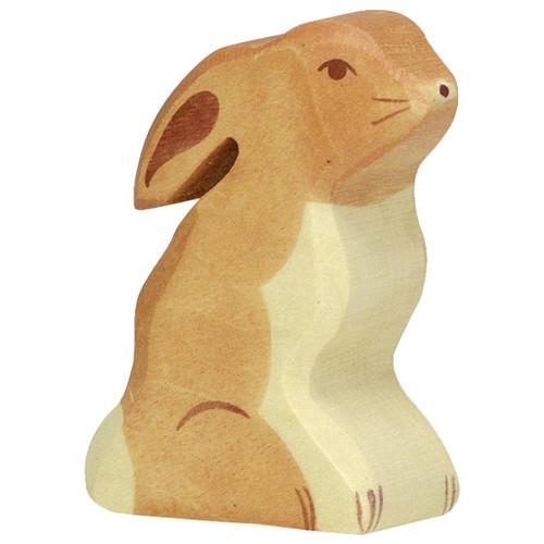 Holztiger Hare Sitting