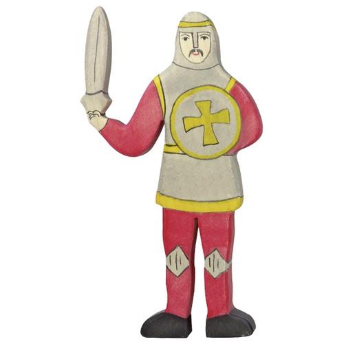 Holztiger Knight fighting red