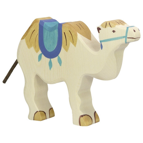 Holztiger Camel with Saddle