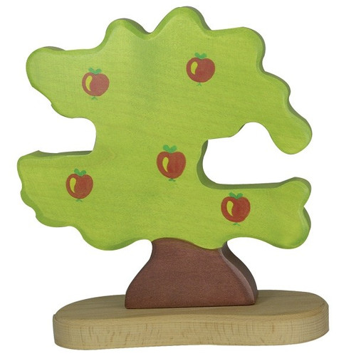 Holztiger Apple Tree with Tree Support (sold separately)