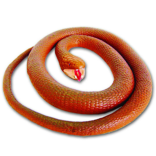 Wild republic Copperhead Rubber Snake 46""