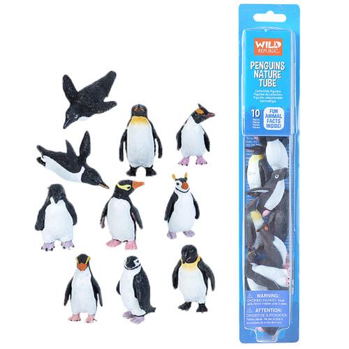 Wild Republic Penguins Nature Tube