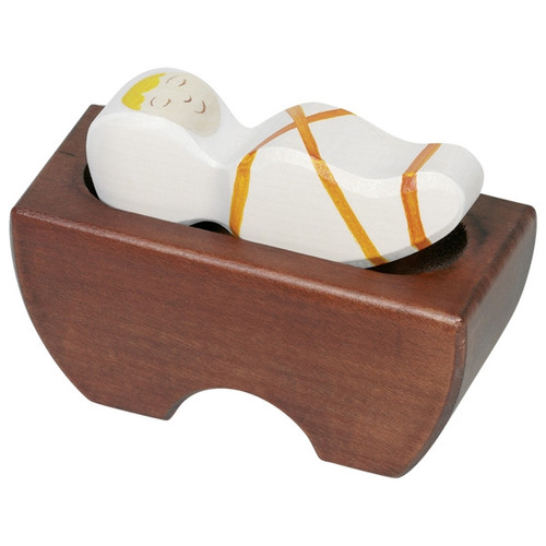 Holztiger Baby Jesus