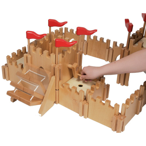 Holztiger Knight's Castle in use