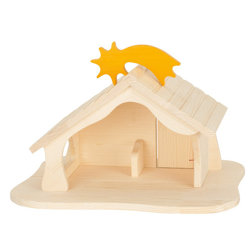 Holztiger Doll's House with Star