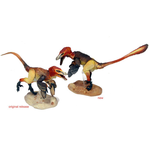 Creative Beasts Velociraptor Mongoliensis old vs new version