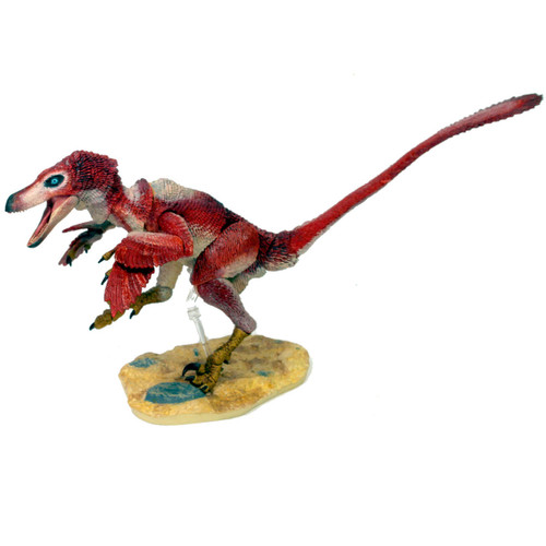 Creative Beasts Velociraptor Osmolskae Red
