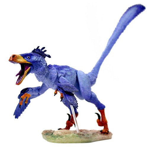 Creative Beasts Saurornitholestes Sullivani Deluxe Purple