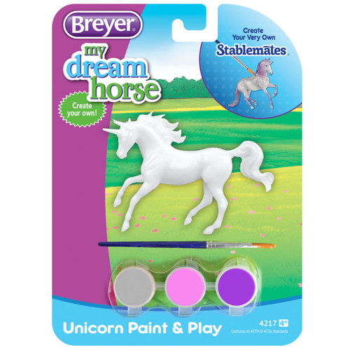 Breyer Activity Unicorn Paint & Play Singles packaging