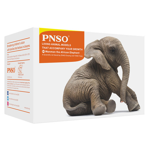 PNSO Manman the African Elephant packaging