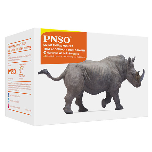 PNSO Nyika the White Rhinoceros packaging