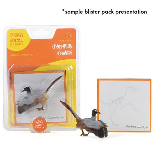 PNSO mini dinosaurs blister pack sample
