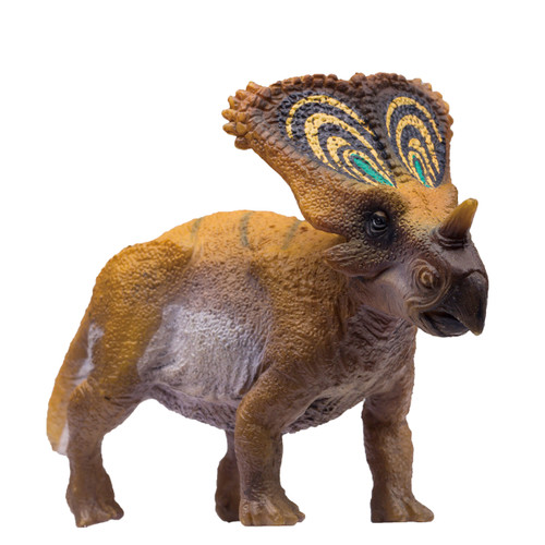 PNSO Chasmosaurus Brown mini dinosaur