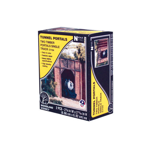 Woodland Scenics Timber Single Portal N Scale packaging