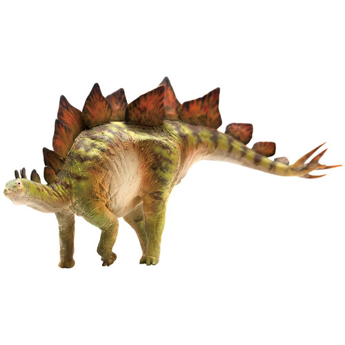 PNSO Bieber the Stegosaurus front side view