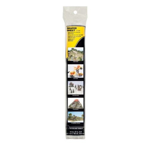 "Woodland Scenics Shaper Sheet® 18"" packaging"
