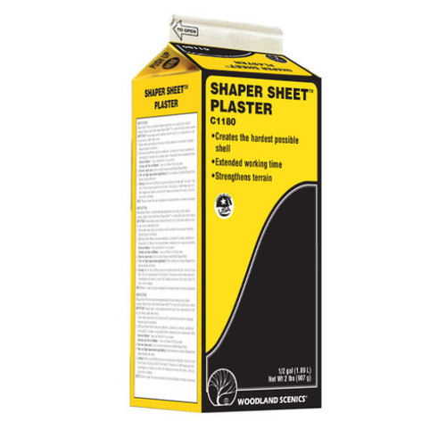 Woodland Scenics Shaper Sheet® Plaster