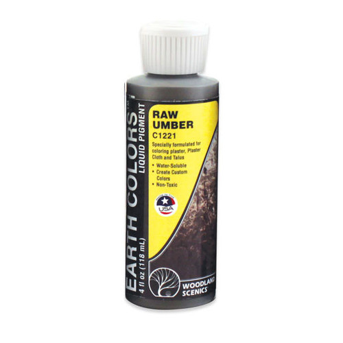 Woodland Scenics Raw Umber Paint
