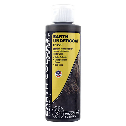 Woodland Scenics Earth Undercoat Paint