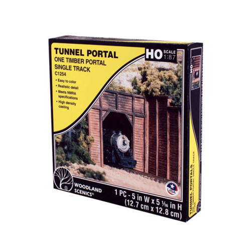 Woodland Scenics Timber Single Portal HO Scale packaging