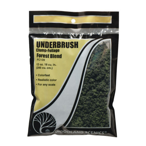 Woodland Scenics Forest Blend Underbrush packaging