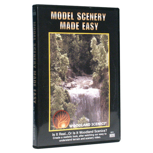 Woodland Scenics 'Model Scenery Made Easy' DVD