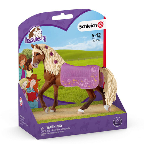 Schleich Paso Fino Stallion Show Horse in packaging