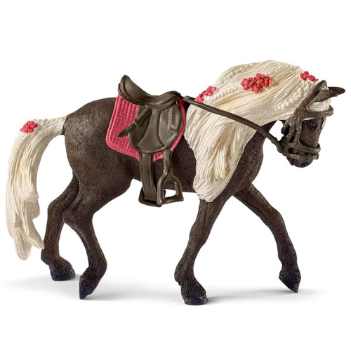 Schleich Rocky Mountain Horse Mare Show Horse with saddle and bridle
