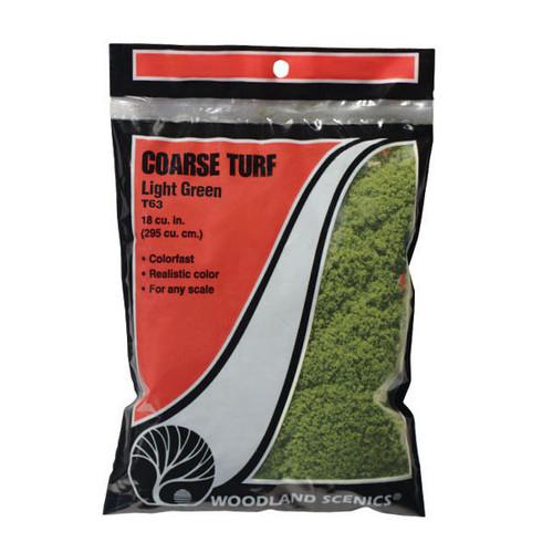Woodland Scenics Coarse Turf Light Green Bag