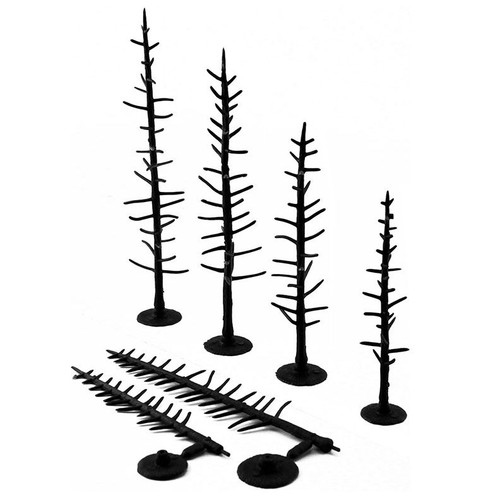 "Woodland Scenics 2 1/2"" to 4"" Armatures (Pine)"
