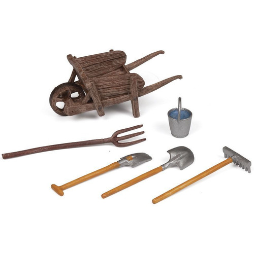 Papo Wheelbarrow and Accessories