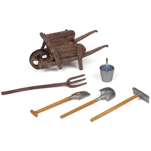 Papo Wheelbarrow and Accessories