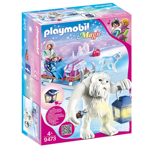 Playmobil Yeti with Sleigh packaging