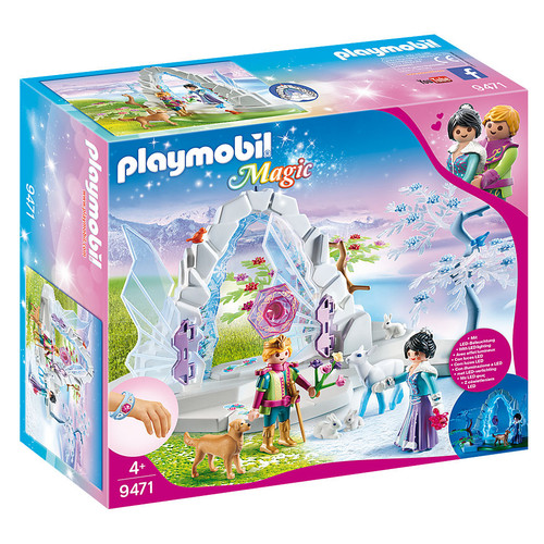 Playmobil Crystal Gate to the Winter World packaging