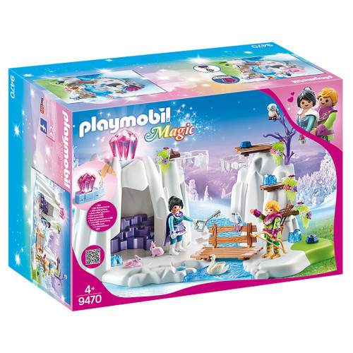 Playmobil Crystal Diamond Hideout packaging