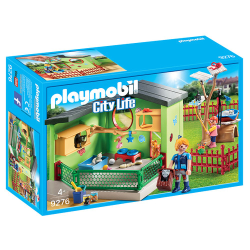 Playmobil Purrfect Stay Cat Boarding packaging