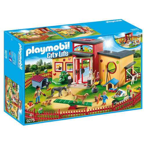 Playmobil Tiny Paws Pet Hotel packaging