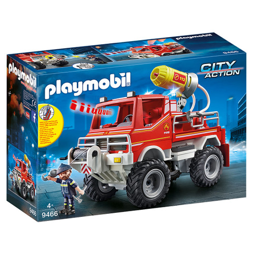 Playmobil Fire Truck packaging