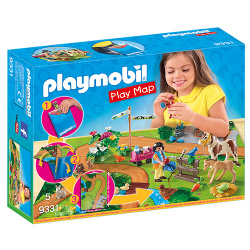 Playmobil Pony Walk Play Map packaging