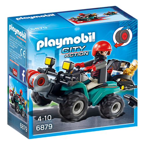 Playmobil Robbers Quad with Loot packaging