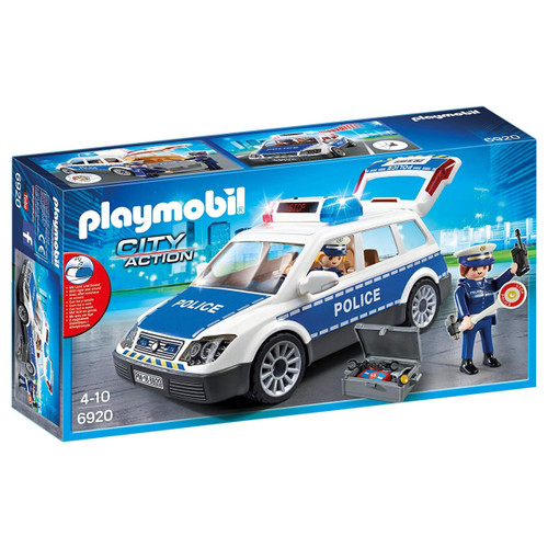 Playmobil Police Car with Lights and Sound packaging
