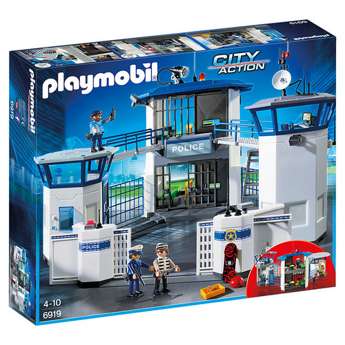 Playmobil Police Headquarters with Prison packaging