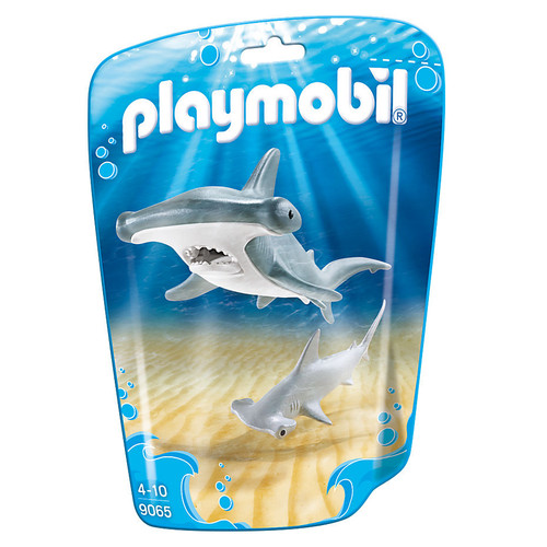 Playmobil Hammerhead Shark with Baby packaging