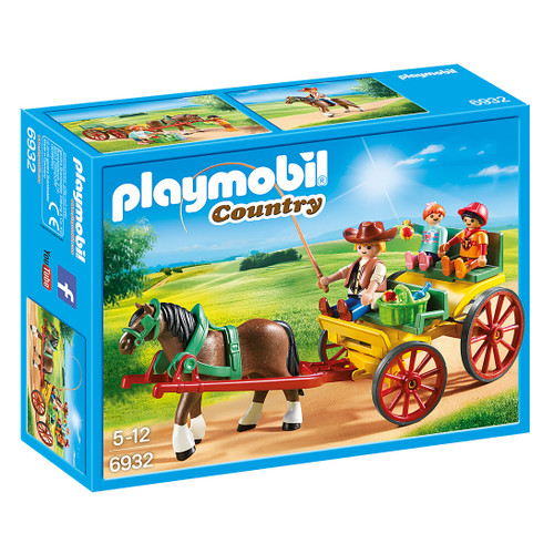 Playmobil Horse-Drawn Wagon packaging