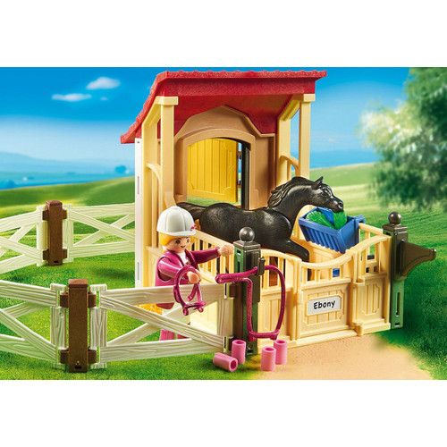Playmobil Horse Stable with Arabian Horse lifestyle 2