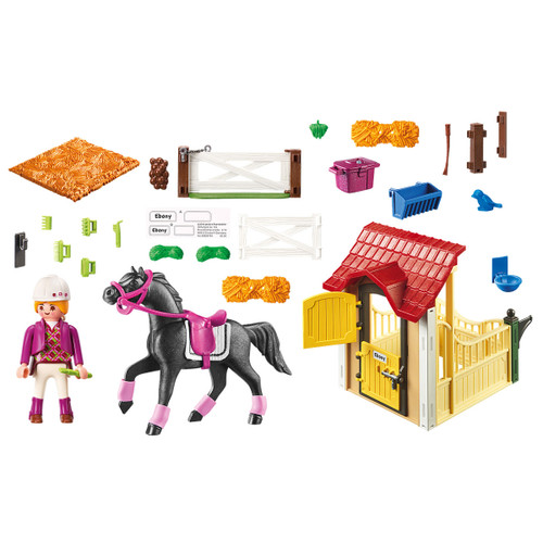 Playmobil Horse Stable with Arabian Horse inclusions