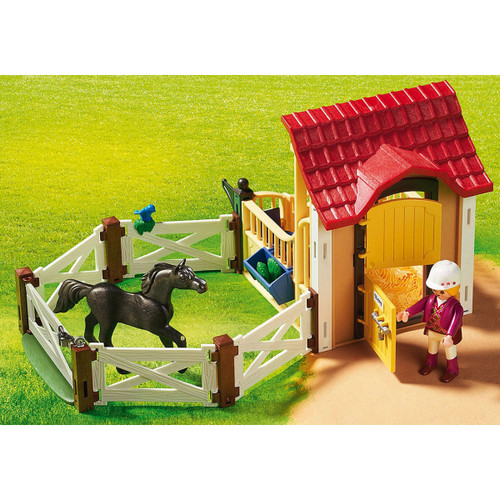 Playmobil Horse Stable with Arabian Horse lifestyle 3